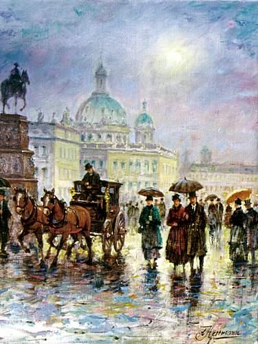 kunstmaler conrad herrmann berlin stadtschloss